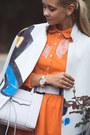 Carrot-orange-chicwish-dress-white-rebecca-minkoff-bag-black-choies-heels