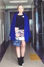 Blue-sheinside-coat-white-romwe-skirt-navy-nowistyle-top