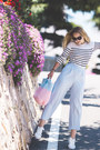 Sky-blue-gvozdishe-knitting-bag-white-adidas-sneakers