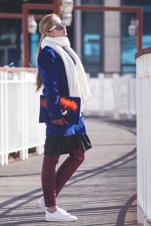 black romwe vest - brick red Tommy Hilfiger pants