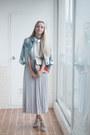 Sky-blue-levis-jacket-silver-romwe-bag-silver-romwe-skirt