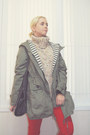 Red-forever-21-jeans-olive-green-zara-jacket-black-forever-21-bag-lime-gre