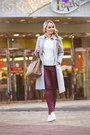 White-enzo-angiolini-shoes-silver-oasap-coat-white-similar-oasap-sweater
