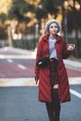 Maroon-metisu-coat-silver-gvozdishe-knitting-hat-periwinkle-romwe-sweater