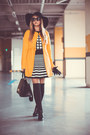 Black-persunmall-boots-yellow-sheinside-coat-black-oasap-hat