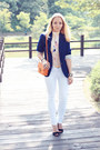 Blue-h-m-blazer-white-maro-catte-jeans-carrot-orange-miss-nabi-bag