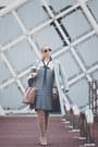Pink-michael-kors-bag-black-ray-ban-sunglasses-white-zaful-blouse