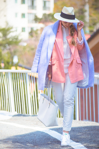 light pink OASAP blazer