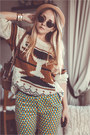 Dark-brown-zerouv-sunglasses-nude-choies-hat-neutral-sheinside-sweater