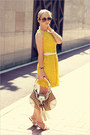Beige-gucci-bag-yellow-asos-dress-dark-brown-celine-sunglasses