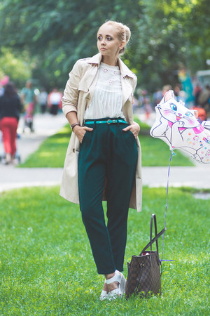 Dark Green Pants - How to Wear and Where to Buy | Chictopia