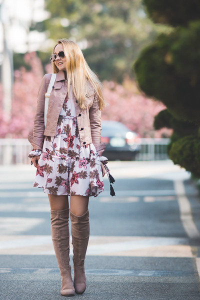 pink romwe dress