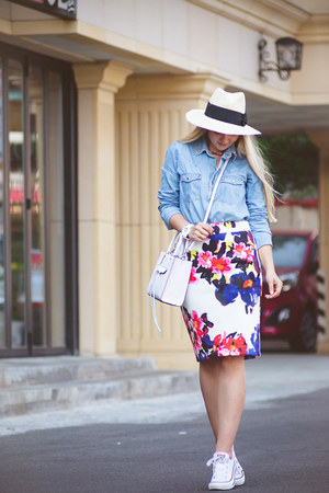 blue Chicwish skirt