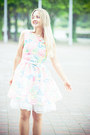 White-imomoi-dress-bubble-gum-oasap-bag-aquamarine-udobuy-sandals