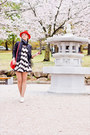 White-miss-nabi-shoes-white-zlz-dress-red-h-m-hat