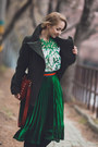 Red-rebecca-minkoff-bag-green-romwe-skirt-green-romwe-blouse
