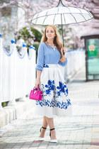 blue Chicwish skirt
