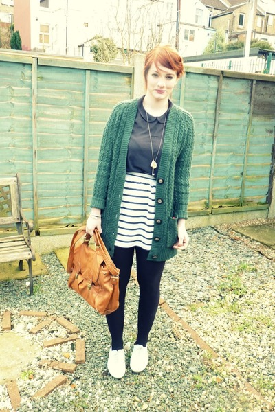 Zara top - next shoes - asos watch - Primark cardigan