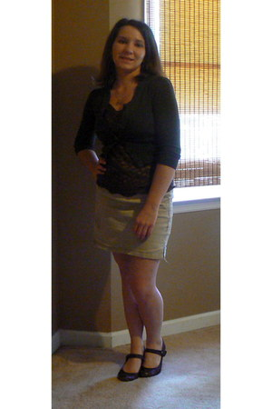 Steve Madden heels - Tommy Hillfiger skirt