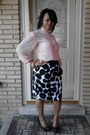 Peach-top-top-printed-skirt-skirt