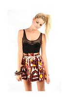 stylestalker top - skirt