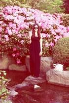 black Hallhuber dress