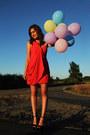 Red-shoshanna-dress-black-have2have-wedges