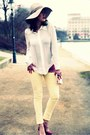 Yellow-zara-jeans-white-zara-blouse-navy-ysl-accessories