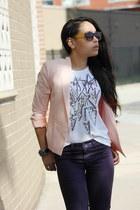 H&M blouse - JBrand pants