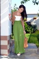 chartreuse nissa skirt
