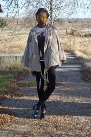 black Forever 21 boots - black skinny True Religion jeans