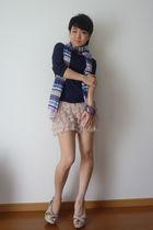 Zara shorts - Nine West shoes
