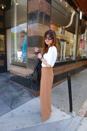 Zara shirt - Topshop pants
