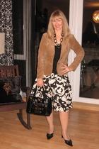 blazer - skirt - necklace - accessories