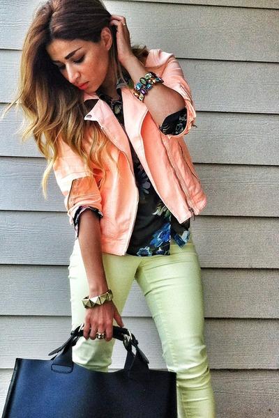 Topshop jacket - Zara jeans - H&M shirt