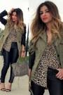Zara-jacket-leopard-print-zara-shirt-mango-heels