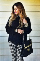 black studded bag Wholesaledress bag - black lita Jeffrey Campbell boots