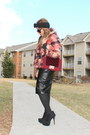 Faux-fur-jacket-riverisland-jacket-asos-hat-shoedazzle-purse