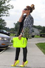 Yellow-neon-cambridge-satchel-bag-black-zara-leggings