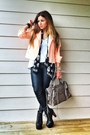 Black-lita-jeffrey-campbell-boots-light-orange-neon-biker-topshop-jacket