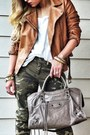 Camo-pants-zara-pants-zara-boots-leather-biker-zara-jacket-balenciaga-bag