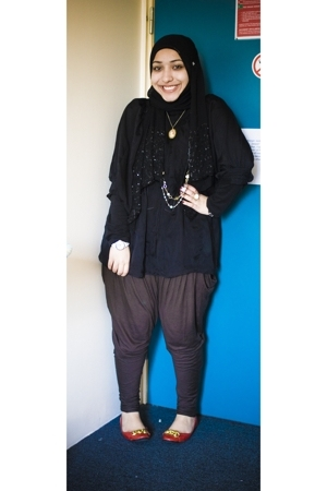 Zara shirt - Zara pants - Primark shoes