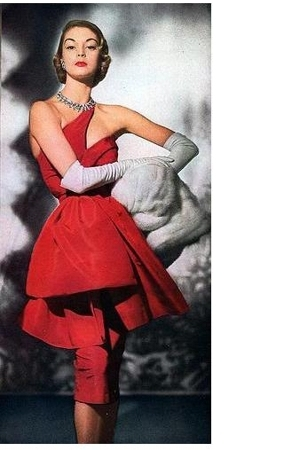 dress - accessories - coat - gloves