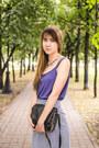 Black-shellys-london-boots-violet-new-look-skirt-violet-per-una-top
