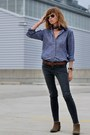 Gray-skinny-james-jeans-jeans-blue-denim-madewell-shirt