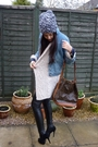Vintage-jacket-aubin-and-wills-hat-topshop-pants