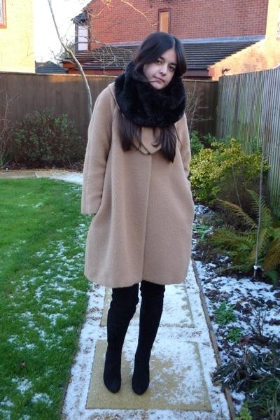 Orla Kiely coat - Zara boots