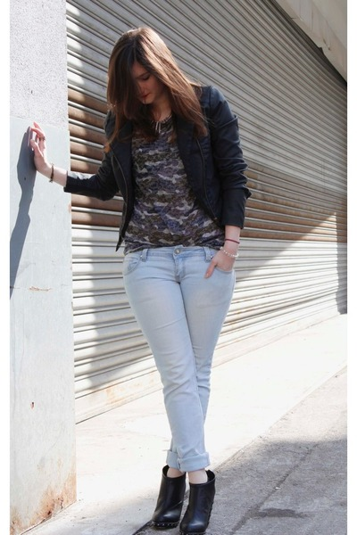 Cubus jacket - reserved blouse