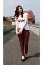 H&M pants - Aldo heels