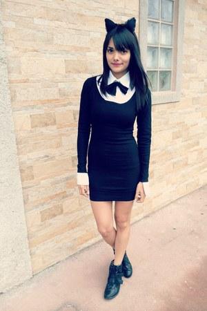 black Nathalia Valverde dress